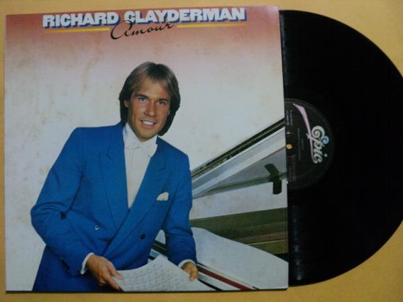 Lp Richard Clayderman- Amour- 1984- Zerado- Frete 15,00