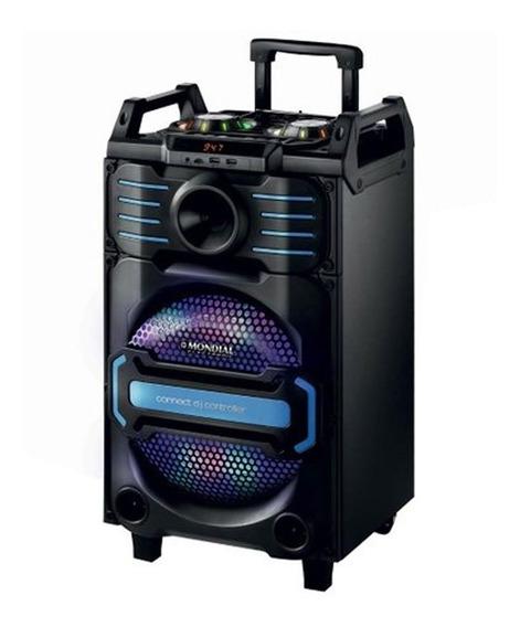 Caixa De Som Amplificadora Mondial Bluetooth 240w Rms Cm-09