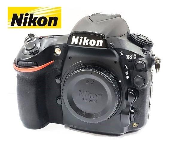 Câmera Nikon D810 36mp Full Frame Corpo - Só 54.211 Clicks