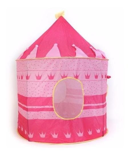 Pack 3 Carpa Castillo Para Niñas Y Niños Rosada
