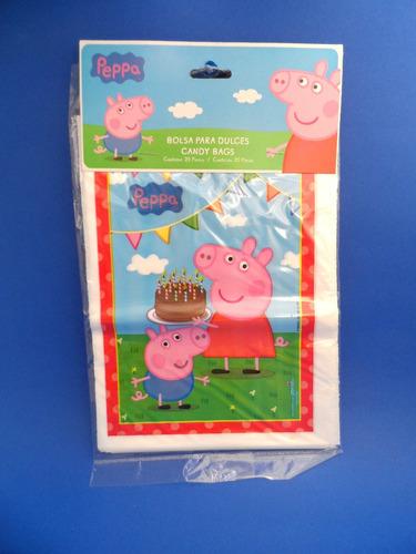 dac7694b0 Bolsas De Dulces Peppa Pig en Mercado Libre México