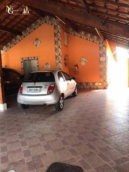 Casa 1 Dormitório Com Vaga De Garagem. - Ca0117