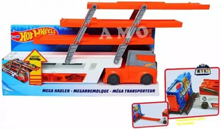 Camión Hot Wheels Mega Hauler Original Oferta + 2 Carros