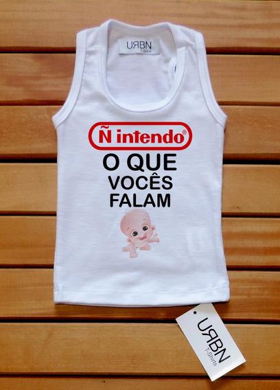 Kit 10 Unidades Regata Camiseta Frase Roupa Bebê