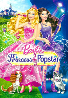 Dvd Barbie Princess Popstar Inglês Americano Aprender Idioma