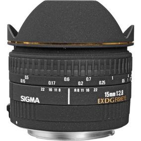 Lente Sigma 15mm F/2.8 Ex Dg Para Canon - Loja Platinum
