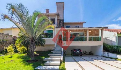 Casa Com 4 Dormitórios À Venda, 300 M² Por R$ 1.965.000,00 - Alphaville 12 - Santana De Parnaíba/sp - Ca0061