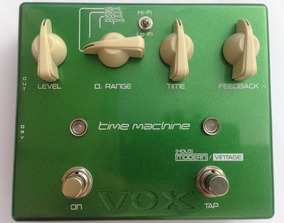 Pedal Time Machine Vox Delay Para Guitarra Joe Satriani