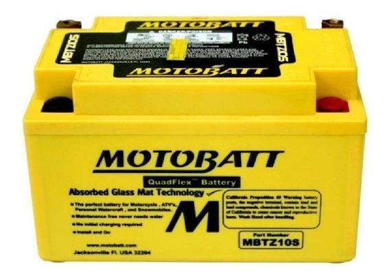 Bateria Moto Motobatt Agm Mbtz10s Kawasaki Zx10 8,6ah