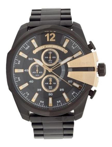 Relógio Masculino Diesel Analógico - Dz4338/1pi - Preto