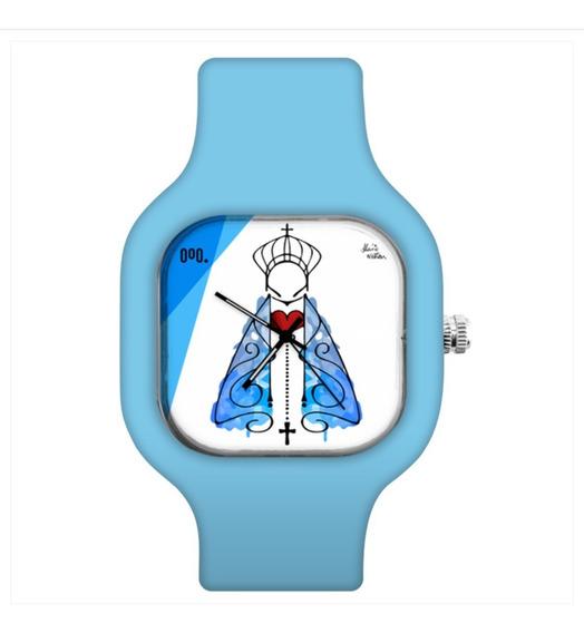 Relógio Troca Pulseira Personalizado Nossa Sra
