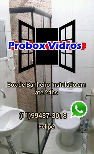 Imagem 1 de 5 de Box De Banheiro Instalado Em 24hs