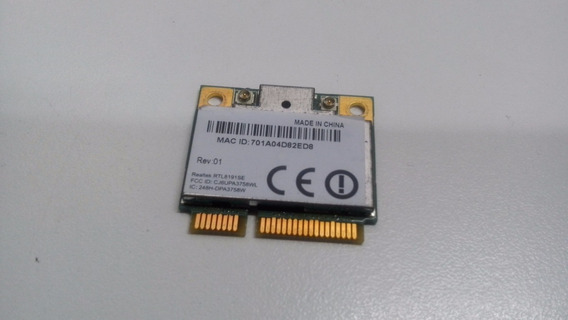 Placa Wireless Para Notebook Toshiba Satellite M505d