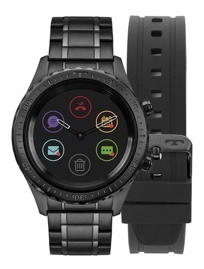 Relógio Technos Masculino Connect Duo Preto P01ab/4p