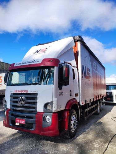 Imagem 1 de 13 de Caminhão Truck Sider - Volkswagen /24.280 Crm 6x2