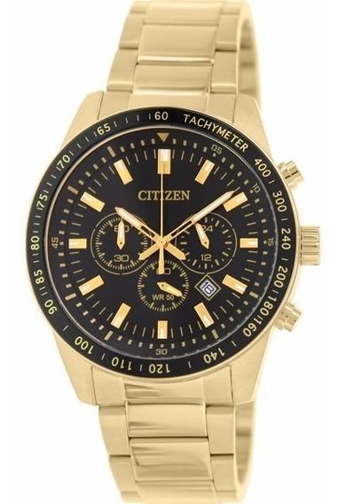 Relógio Citizen Masculino Tz30802u An8072-58e Dourado Oferta