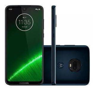 Smartphone Motorola Moto G7 Plus 64gb Dual Chip Android Pie - 9.0 + Brinde Maleta De Make