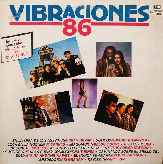 Vibraciones 86 - The Motels - Marillon Duran Duran Lp Roc@