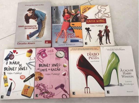 Lote Com 7 Livros - Romance