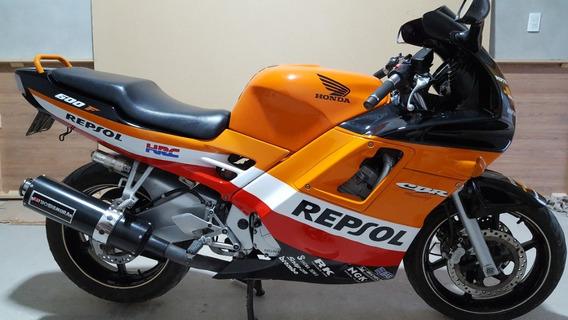 Moto Honda Cbr 600 F1, Mod, 1993 Tomo Permuta De Mi Interés.