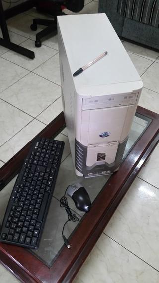 Computador De Mesa Celeron C/ Mouse E Teclado