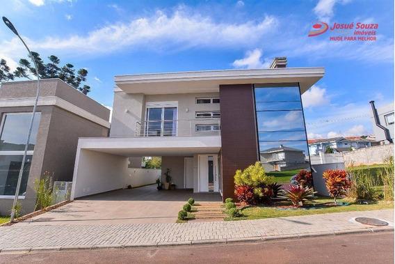 Casa À Venda, 309 M² Por R$ 1.780.000,00 - Bacacheri - Curitiba/pr - Ca0238