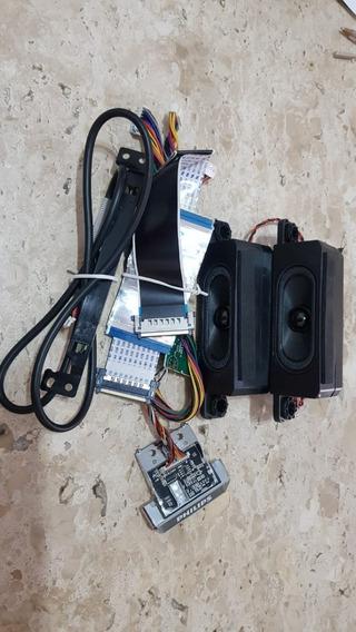 Cj. Flats Cable Tv Philips 40pug6300/78 Wi-fi, Botão