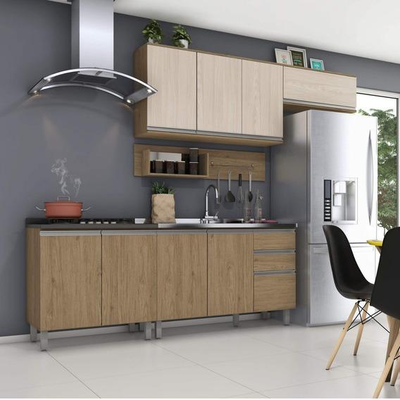 Cozinha Completa Balcão Com Tampo Para Cooktop E Ig
