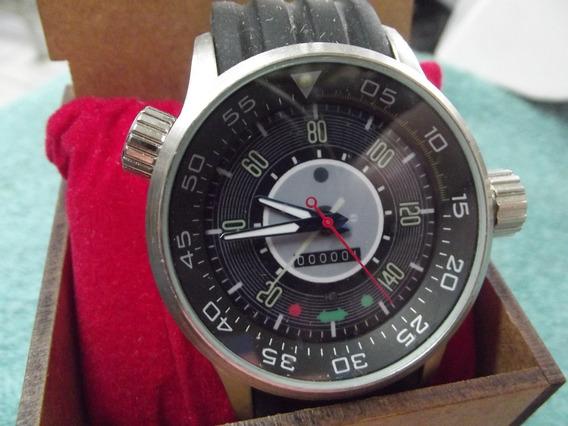 Relógio Esportivo Painel V.w Fusca 140 Km # Muito Novo# Raro
