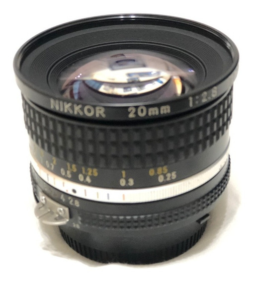 Lente Nikkor Ais 20mm F2.8 Fx