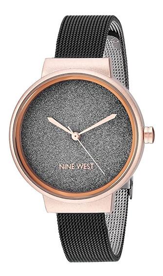 Nine West | Reloj Mujer | Nw/2397bkrt | Original