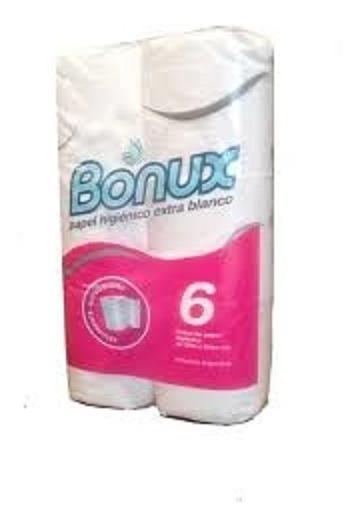 Papel Higienico Bonux X6 Unidades Pack Palermo Envios