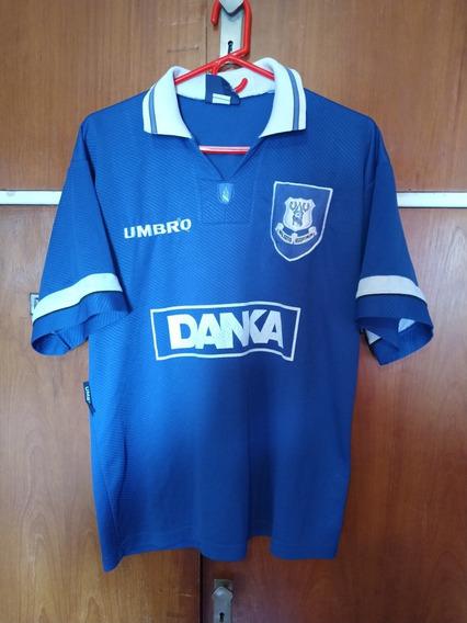 Camiseta Del Everton 1995/97