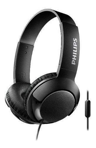 Fone De Ouvido Supra Auricular Preto Philips 12x Sem Juros