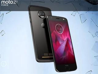 Celular Motorola Z2 Force Black 64gb
