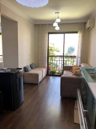 Apartamento Com 3 Dormitórios, 2 Vagas À Venda, 65 M² Por R$ 630.000 - Aclimação - São Paulo/sp - Ap9887