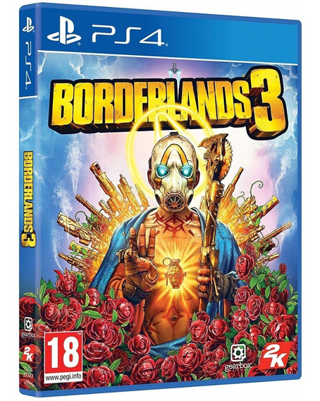 Jogo Borderlands 3 Ps4 Disco Fisico Game Lacrado Português