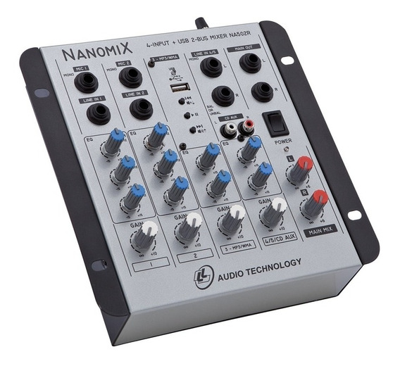 Mesa De Som Ll Audio Nanomix Na502r Usb