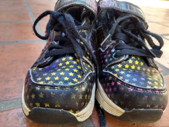 Zapatillas Footy Con Rueditas Usadas En Exelente Estado