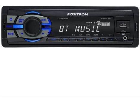 Mp3 Player Pósitron Sp2310 Bt Com 2 Saídas Rca