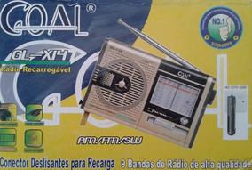 Radio Recarregável Gl-x14 Goal