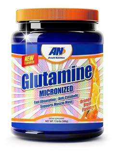 Glutamina Micronizada Arnold 500g Importada Anti Catabólico