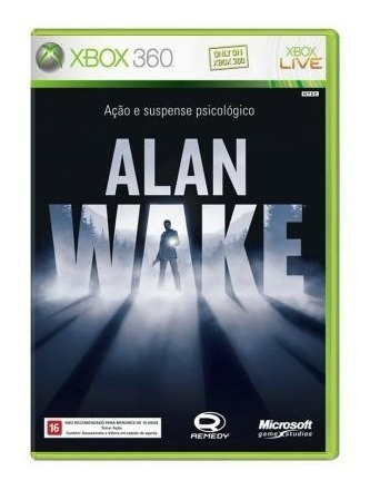 Alan Wake - Xbox 360-compativel Xbox One-entrega Imediata