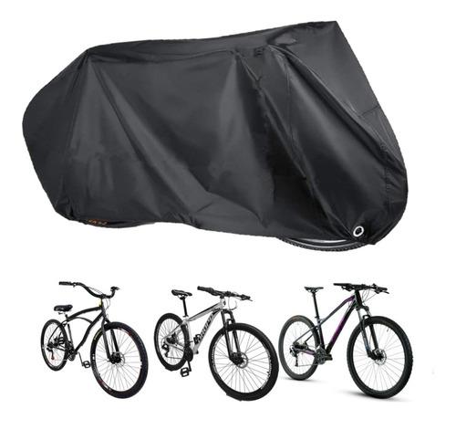 Imagem 1 de 3 de Capa P/ Cobrir Bicicleta Forrada Impermeável Aro 24/26/29