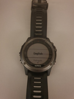 Relógio Garmin Fenix 3 Com Cinta Cardiaca