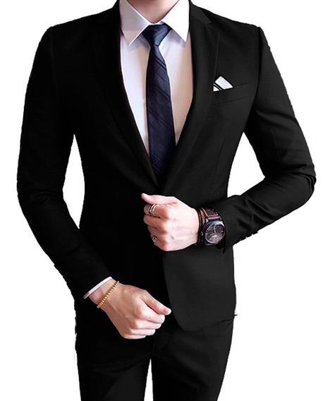 Terno Slim Masculino-paletó +calça Corte Italiano