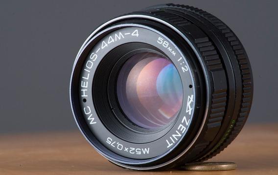 Lente Russa M42 Zenit Helios 58mm 2.0 Lindo Bokeh