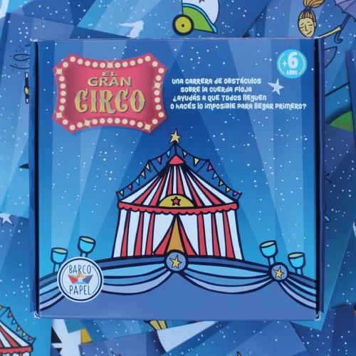 Imagen 1 de 4 de El Gran Circo - Juego Para Niños Montessori - Lakalumba