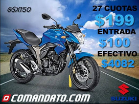 Solo $100 De Entrada - Motos Suzuki A Credito O Al Contado