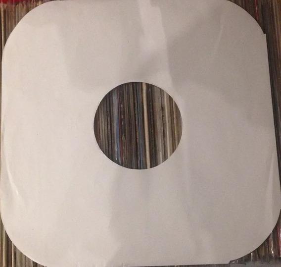 Kit Capa Interna Papel Para Disco Vinil Lp 12 + Pástico Ext
